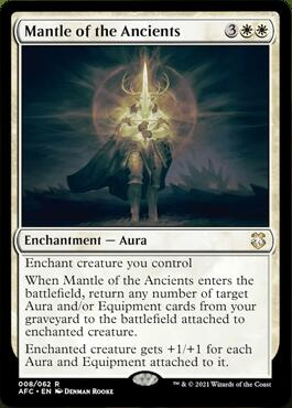 Mantle of the Ancients Aura of Courage Decklist