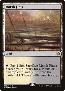 Marsh Flats Modern Horizons 2 Spoilers