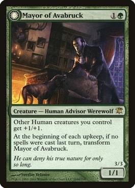 Mayor of Avabruck Best MTG Werewolves