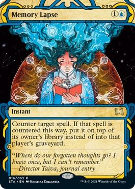 Memory Lapse Mystical Archive Card List