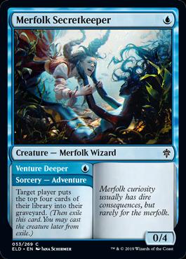 Merfolk Secretkeeper Throne of Eldraine Draft Guide