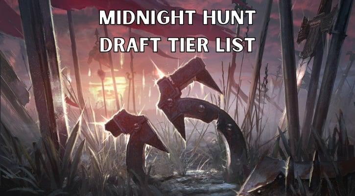 Midnight Hunt Draft Tier List Banner