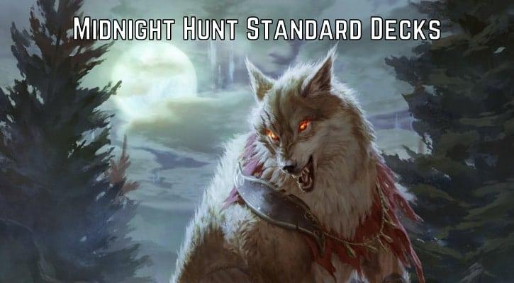 Midnight Hunt New Standard Deck Decklists Arena Banner