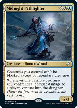 Midnight Pathlighter Dungeons of Death Decklist