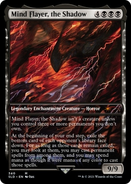 Mind Flayer, the Shadow MTG Stranger Things Cards