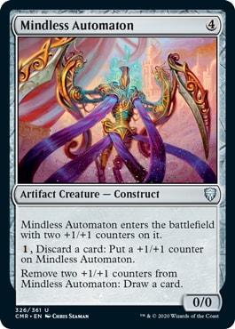 Mindless Automaton Commander Legends Spoilers