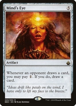 Mind's Eye Silverquill Statement Upgrade Guide Commander 2021 Precon