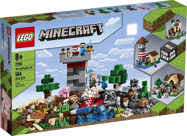 Minecraft Gift Guide Lego Crafting Box