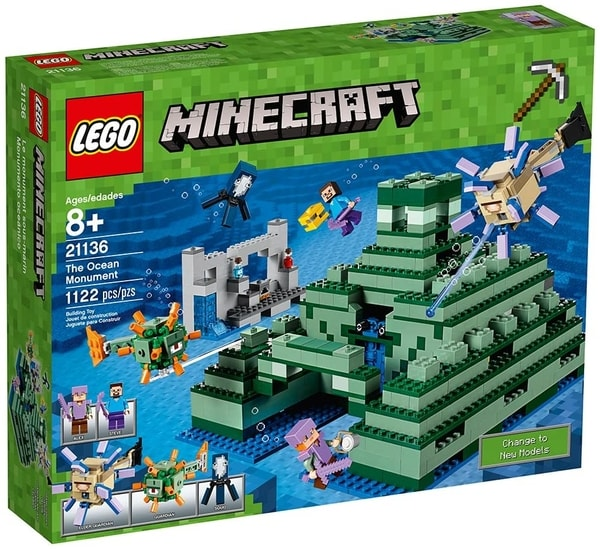 Minecraft Gift Guide Lego Ocean Monument