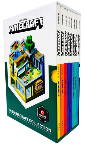 Minecraft Gift Guide Official Books Set of 8
