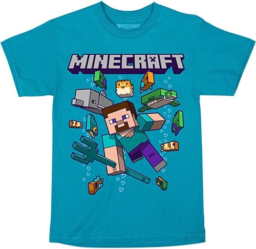 Minecraft Shirt Gift Guide