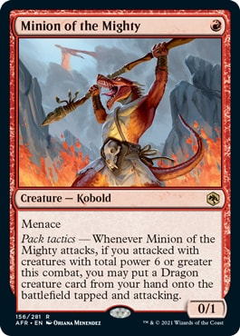 Minion of the Mighty Forgotten Realms Spoilers