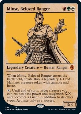Minsc, Beloved Ranger Alternate DND Style