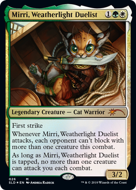 Mirri Weatherlight Duelist OMG Kitties