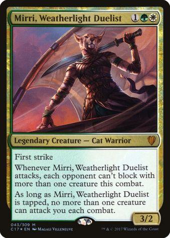 Mirri Weatherlight Duelist