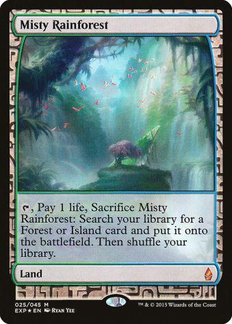Misty Rainforest Zendikar Expeditions