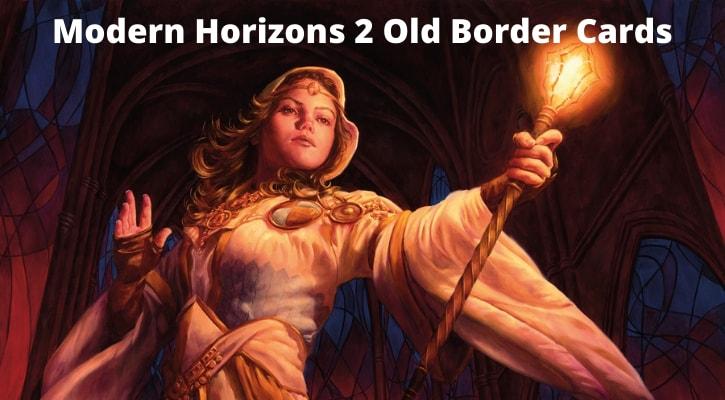 Modern Horizons 2 Old Border Card List Banner