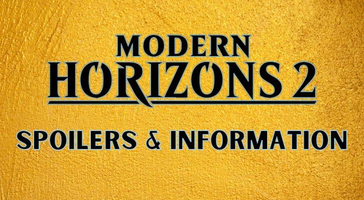 Modern Horizons 2 Spoilers Banner