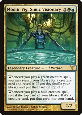 Momir Vig, Simic Visionary Aura of Courage Upgrade Guide