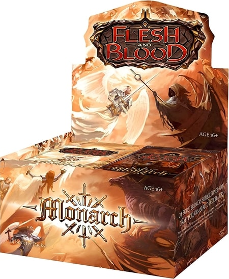 Monarch Newest Best Flesh and Blood Booster Box to Buy