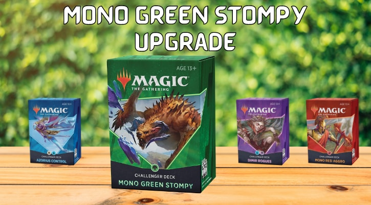 Mono Green Stompy Upgrade Challenger Deck 2021 Banner