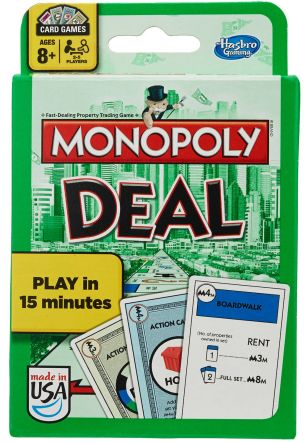 Monopoly Deal Best Card Games for Families