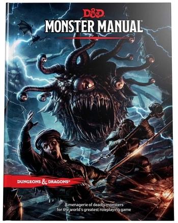 Monster Manual DnD What to Buy for Beginner