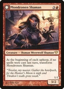 Moondronen Shaman Best MTG Werewolves