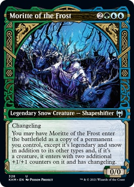 Moritte of the Frost Kaldheim Showcase Cards