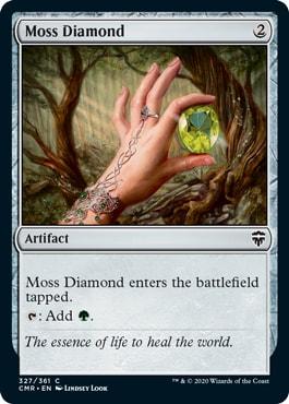 Moss Diamond Commander Legends