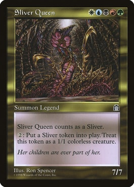 Most Expensive MTG Magic Cards for Commander Sliver Queen