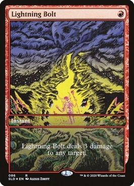 Mountain Go Secret Lair V4 Lightning Bolt
