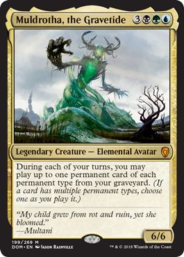 Muldrotha, the Gravetide Landfall Commander