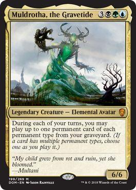 Muldrotha, the Gravetide Landfall Commander