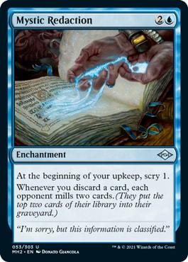 Mystic Redaction Modern horizons 2 Draft Archetypes