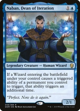 Naban Dean of Iteration Best MTG Wizard Cards
