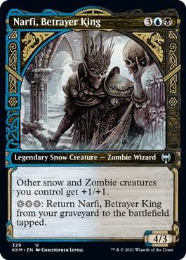 Nafri Betrayer King Alternate Viking Art