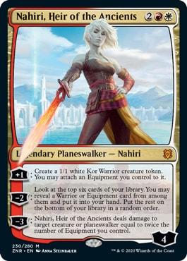 Nahiri, Heir of the Ancients Best Commander Cards Zendikar Rising