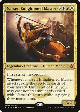 Narset, Enlightened Master Best Jeskai Commanders MTG EDH