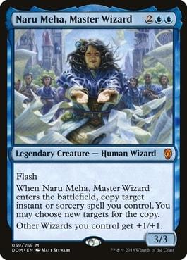 Naru Meha, Master Wizard MTG Wizard Commanders