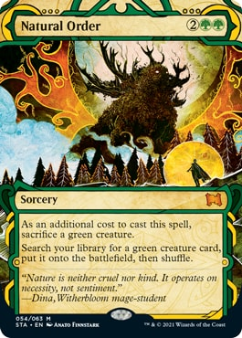 Natural Order All Mystical Archive Cards Strixhaven