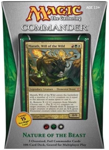 Nature of the Beast MTG Commander Precons 2013