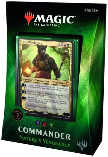 All Commander Precons List Nature's Vengeance