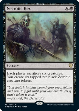 Necrotic Hex Commander Legends All Cards