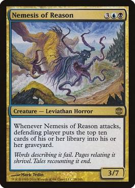 Nemesis of Reason Mill Win Condition