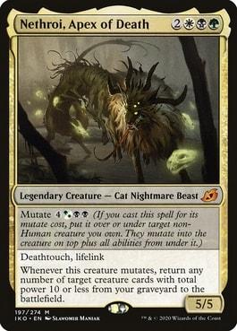 Nethroi, Apex of Death Best Abzan Commanders