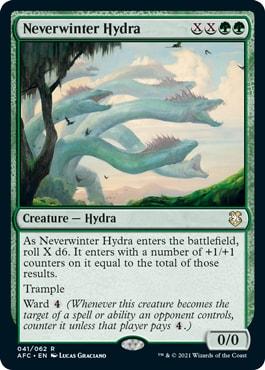 Neverwinter Hydra Forgotten Realms Commander Decklists