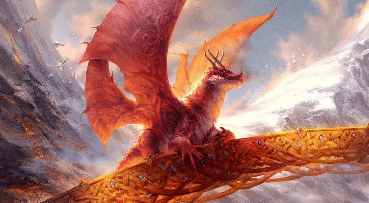 New Kaldheim Decks Decklists Arena Standard MTGA Goldspan Dragon Banner