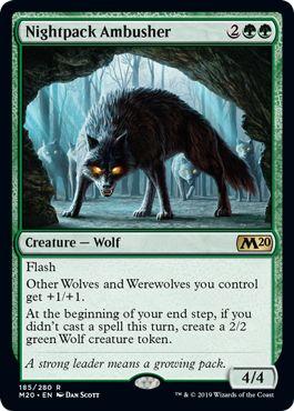 Nightpack Ambusher Werewolf tribal