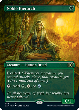 Noble Hierarch Double Masters Box Topper
